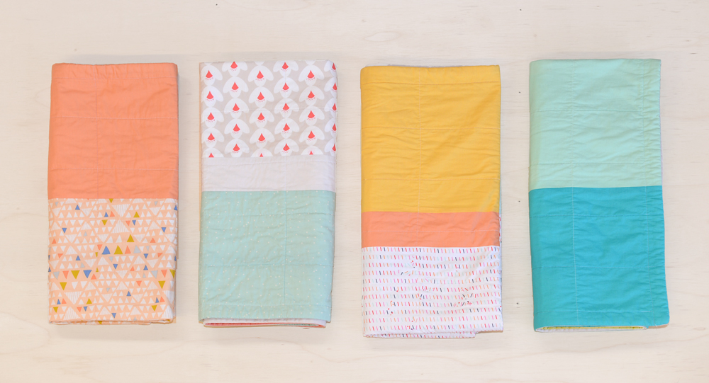 Itty Bitty Handmade 4-folded-quilts