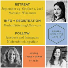 Modern Stitching Affair Retreat Info