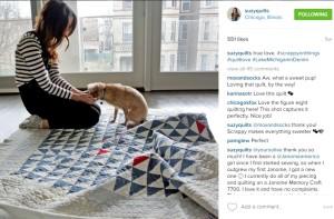 Suzy Williams Scrappy Quilts Instagram