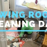 Sewing Room Cleaning Day: A Music Video
