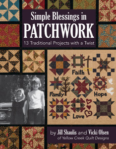 C&T Publishing book simple blessings in patchwork cover