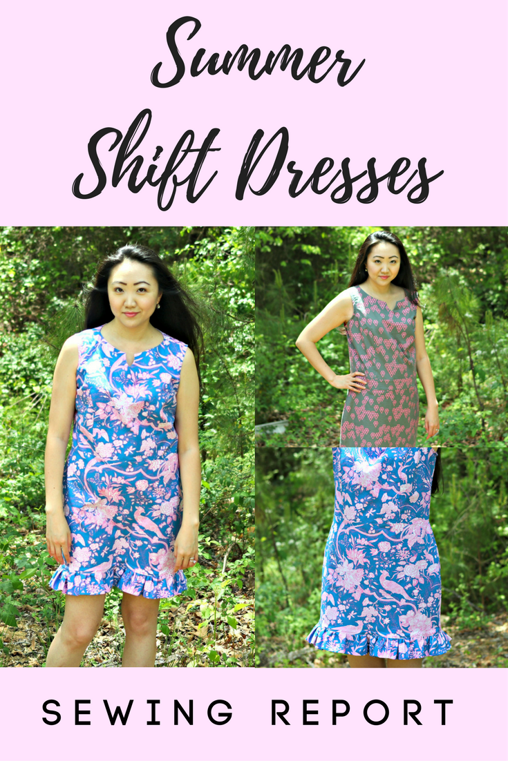 SUMMER SHIFT DRESSES