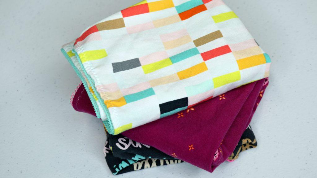 Art Gallery Fabrics Boardwalk Delight Knit Underwear Hipster Panty Free Pattern Folded Pile