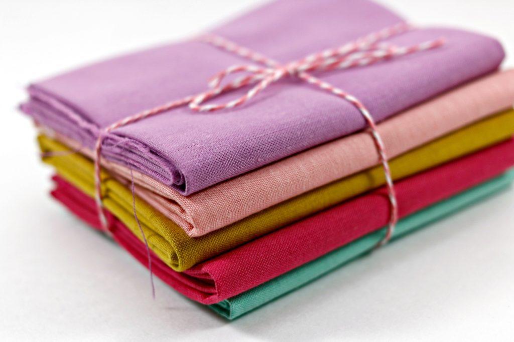 Cloud 9 Organic Cotton Fabric Fat Quarter Bundle 1 EDITED