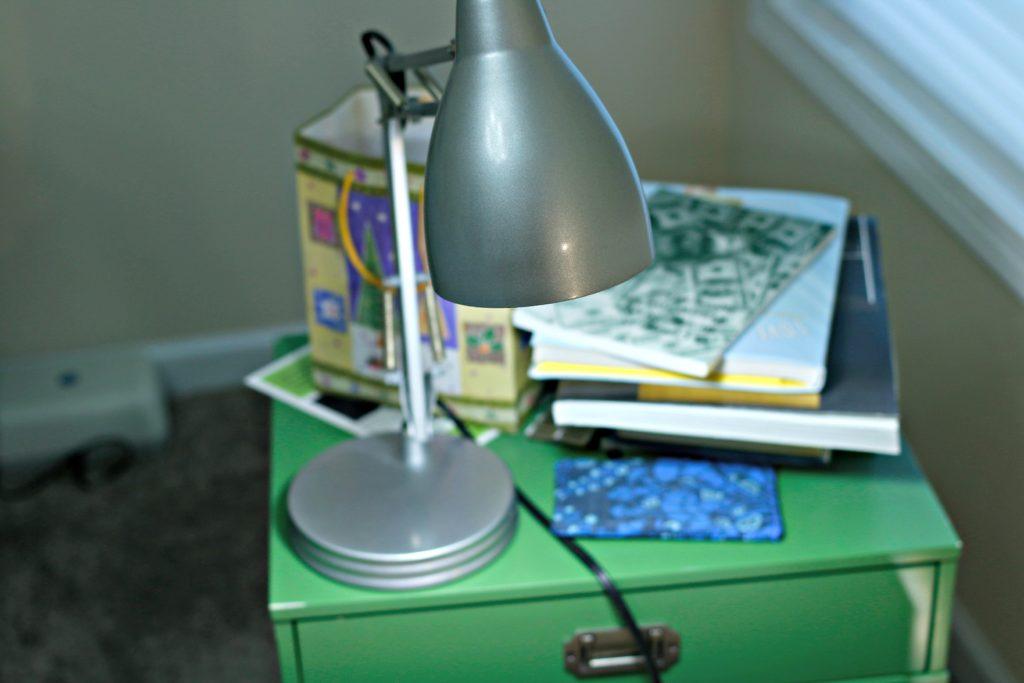 DIY Photography Light Box Silver Desk Lamp