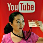 Jen at YouTube Creator Day Surprised EDITED