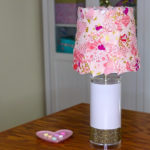 EASY CRAFT PROJECT! ✂️ DIY Fabric Lampshade FT TERIAL MAGIC
