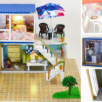 WELCOME TO THE DOLLHOUSE! DIY Miniatures Dollhouse Kit 🏠 Container Home with Custom Finishes