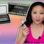 Arteza Hobby Knives Set Review + Demo | CRAFT SUPPLIES