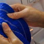 How To: Basic Three-Thread Flatlock Stitch / Hem on Brother 1034D Serger