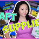 Dollar Tree Craft Supplies Haul + Review