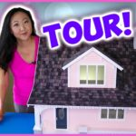I'm 35 and Built a Dollhouse… Let's Take a Tour! Beachside Bungalow Kit Episode 7