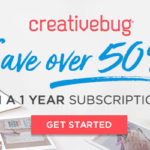 Creativebug – 1 Year Unlimited Access for $49