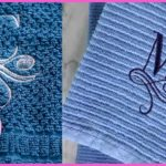 DIY Monogram Towels 2 Easy Ways | Brother PE800 Embroidery Machine