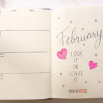 Bullet Journal February 2019 Monthly Spread | BUJO FOR BEGINNERS