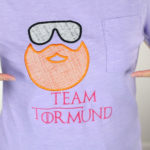 Tormund Giantsbane T-Shirt | Game of Thrones DIY Embroidery Project