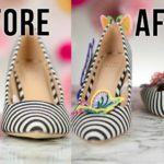 DIY Fashion Project | Transforming Target Shoes