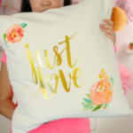 Sew & Decorate Easy Throw Pillow | Beginner Friendly DIY Project