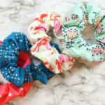 DIY Scrunchies | 2 Easy Methods | Simple Sewing Tutorial