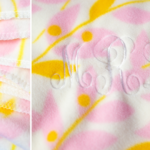 Easy DIY Fleece Monogrammed Blanket | Quick Handmade Gift