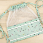 Best Summer Bag to Sew? Meshing Around Drawstring Backpack (Kits Available)