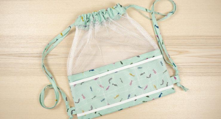 Meshing Around Drawstring Backpack