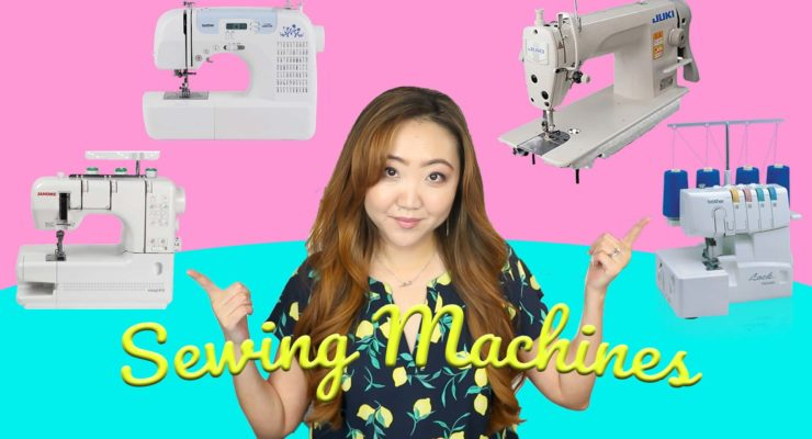 Sewing Machine Types Explained